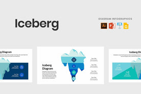 Iceberg Diagram Infographics-PowerPoint Template, Keynote Template, Google Slides Template PPT Infographics -Slidequest