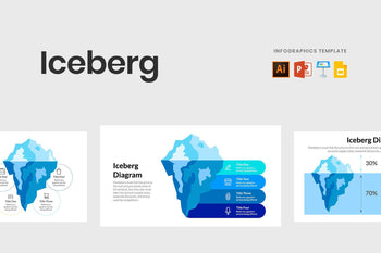 Iceberg Infographics Template-PowerPoint Template, Keynote Template, Google Slides Template PPT Infographics -Slidequest
