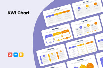 KWL Chart Infographics-PowerPoint Template, Keynote Template, Google Slides Template PPT Infographics -Slidequest