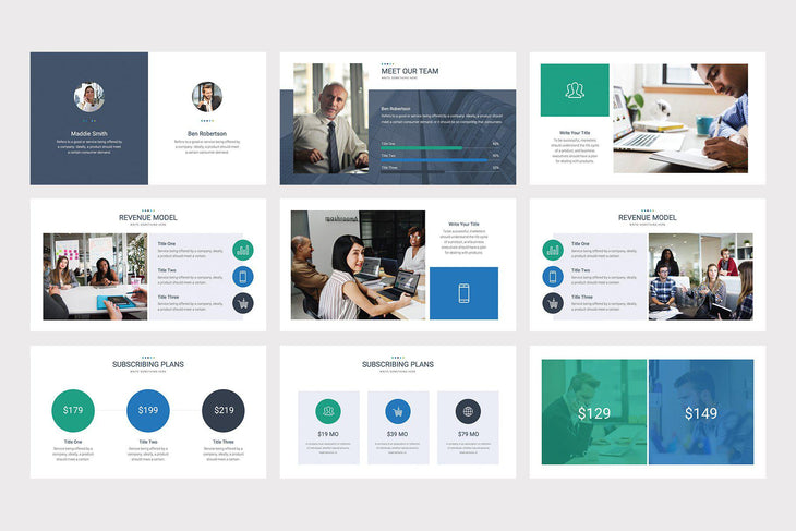 Marcher PowerPoint Template - TheSlideQuest