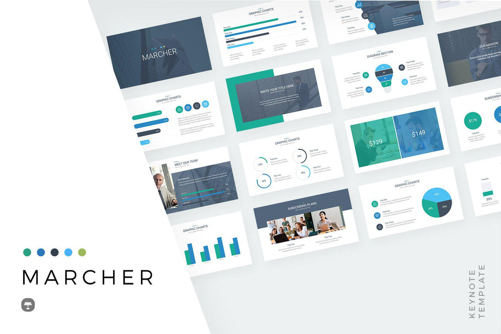 Marcher Keynote Template
