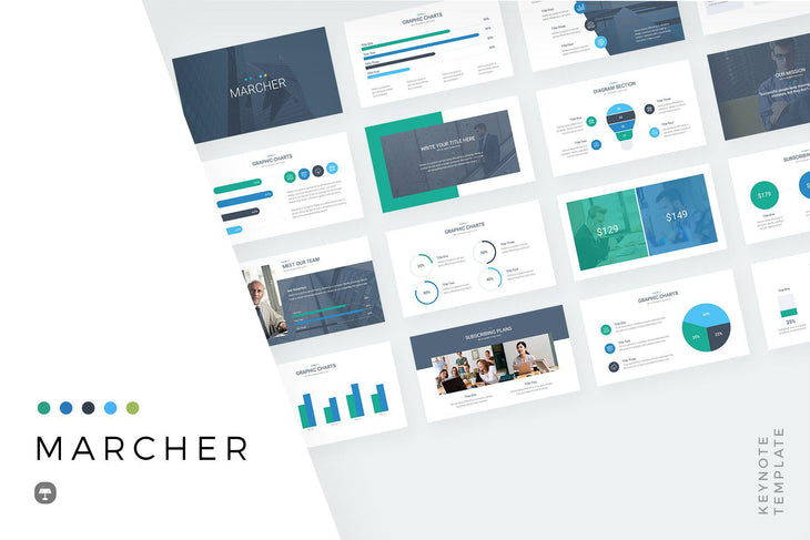 Marcher Keynote Template-PowerPoint Template, Keynote Template, Google Slides Template PPT Infographics -Slidequest