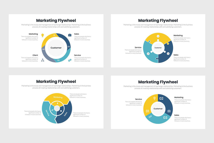 Marketing Flywheel-PowerPoint Template, Keynote Template, Google Slides Template PPT Infographics -Slidequest