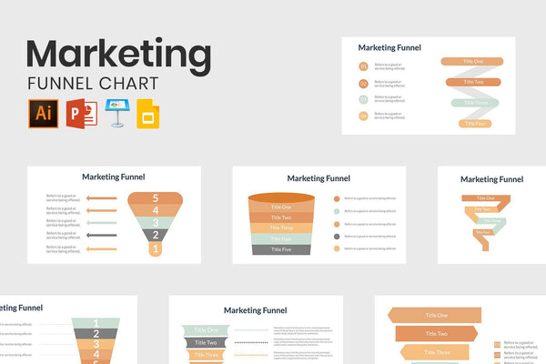 Marketing Funnel Chart - TheSlideQuest