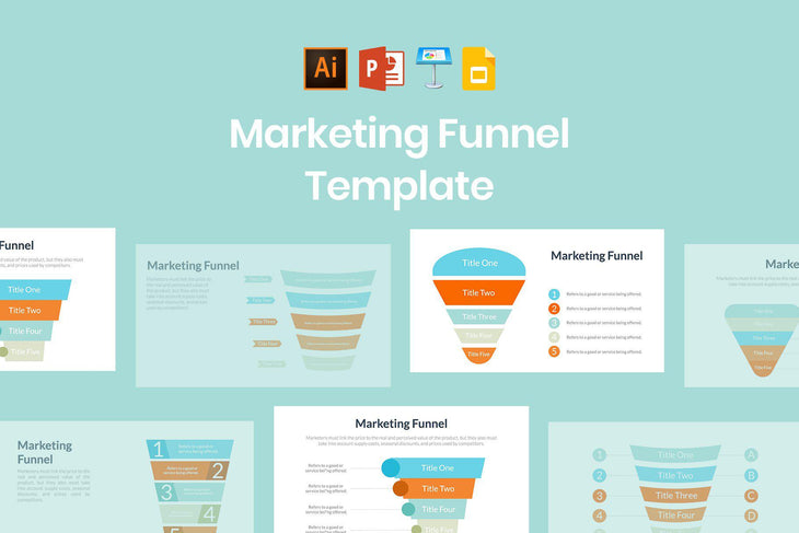 Marketing Funnel Template - TheSlideQuest