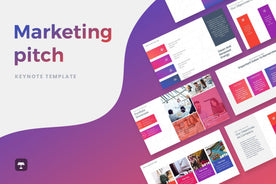 Marketing Pitch Deck Keynote Template - TheSlideQuest