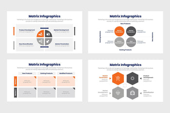 Matrix Infographics-PowerPoint Template, Keynote Template, Google Slides Template PPT Infographics -Slidequest