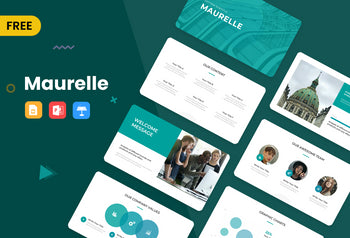 Maurelle Free Presentation Template-PowerPoint Template, Keynote Template, Google Slides Template PPT Infographics -Slidequest