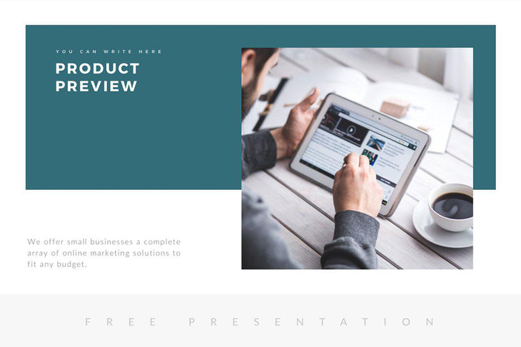 Maverick Free Minimal Presentation Template - TheSlideQuest