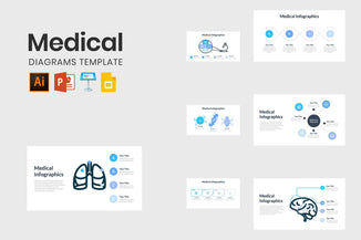 Medical Diagrams Template-PowerPoint Template, Keynote Template, Google Slides Template PPT Infographics -Slidequest