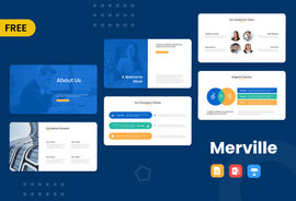 Merville Free Presentation Template-PowerPoint Template, Keynote Template, Google Slides Template PPT Infographics -Slidequest