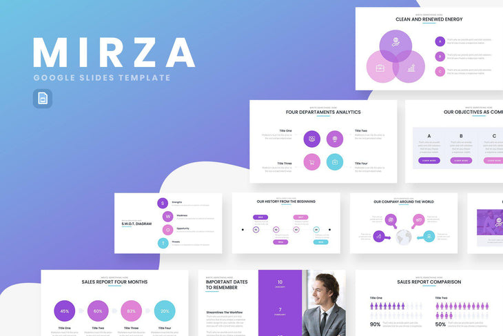 Mirza Business Google Slides - TheSlideQuest