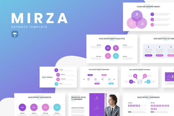 Mirza Business Keynote Template - TheSlideQuest