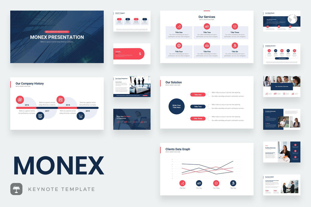 Monex Keynote Template - TheSlideQuest