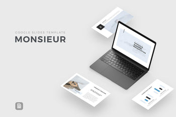 Monsieur Google Slides-PowerPoint Template, Keynote Template, Google Slides Template PPT Infographics -Slidequest