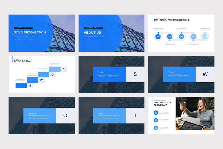 Nova PowerPoint Template - TheSlideQuest
