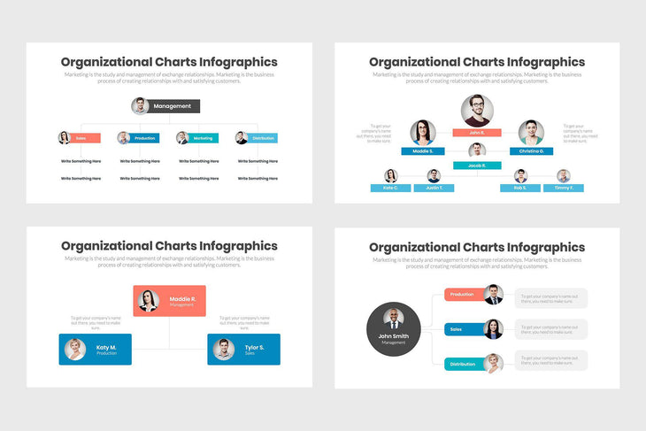 Organizational Charts-PowerPoint Template, Keynote Template, Google Slides Template PPT Infographics -Slidequest