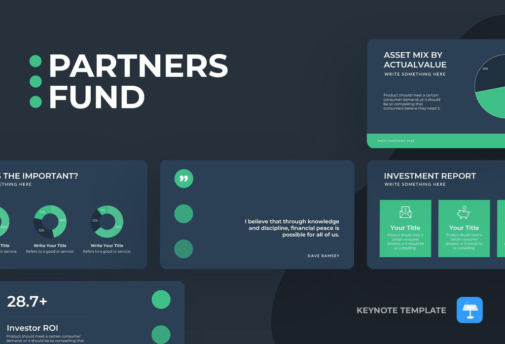 Partners Fund Finance Keynote Template