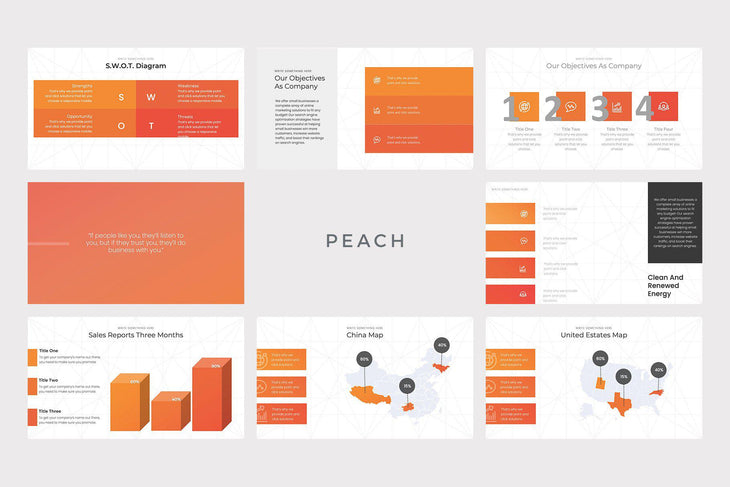 Marketing Pitch Deck PowerPoint Template - TheSlideQuest