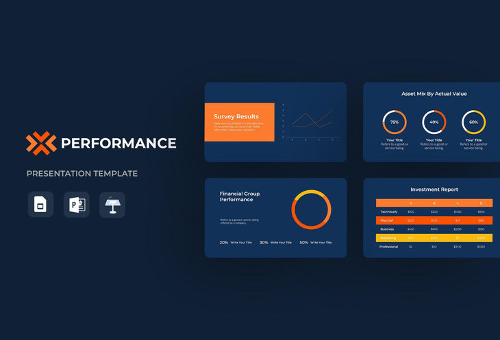 WAVES Finance Presentation Templates Bundle-PowerPoint Template, Keynote Template, Google Slides Template PPT Infographics -Slidequest