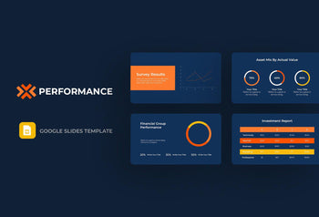 Performance Finance Google Slides-PowerPoint Template, Keynote Template, Google Slides Template PPT Infographics -Slidequest