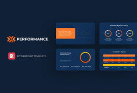 Performance Finance PowerPoint Template-PowerPoint Template, Keynote Template, Google Slides Template PPT Infographics -Slidequest