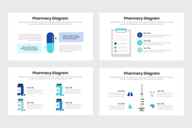Pharmacy Infographics Template PowerPoint Keynote Google Slides PPT KEY GS