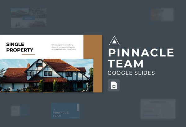 Pinnacle Team Real Estate Google Slides