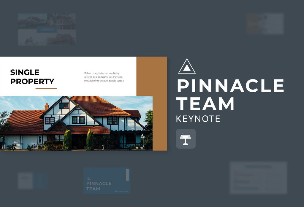 Pinnacle Team Real Estate Keynote Template