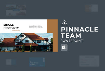 Pinnacle Team Real Estate PowerPoint Template