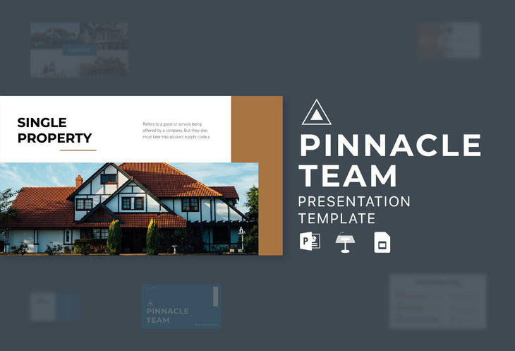 PRIME Real Estate Presentation Templates Bundle
