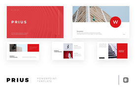 Prius PowerPoint Template - TheSlideQuest