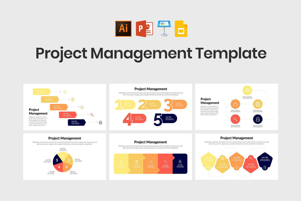 Project Management Diagrams Template
