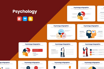 Psychology Infographics-PowerPoint Template, Keynote Template, Google Slides Template PPT Infographics -Slidequest