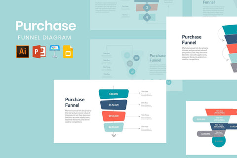 Purchase Funnel Diagram - TheSlideQuest