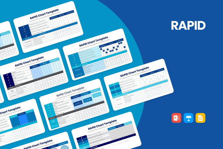 RAPID Diagram-PowerPoint Template, Keynote Template, Google Slides Template PPT Infographics -Slidequest
