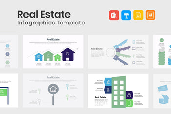 Real Estate Infographic Templates