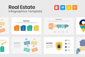 Real Estate Infographics for Presentations-PowerPoint Template, Keynote Template, Google Slides Template PPT Infographics -Slidequest