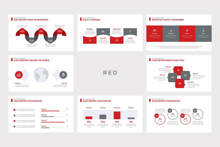 Averia Marketing Pitch PowerPoint Template - TheSlideQuest