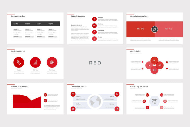 Della Business PowerPoint Template - TheSlideQuest