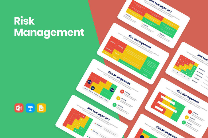 Risk Management Infographics - PowerPoint Template, Keynote Template, Google Slides Template PPT Infographics -Slidequest