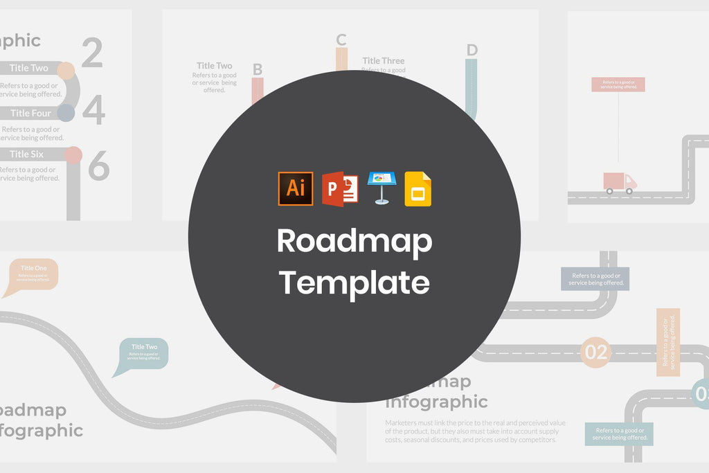 Roadmap Template - TheSlideQuest
