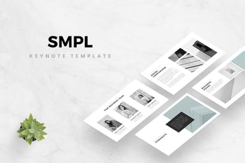 SMPL Keynote Template-PowerPoint Template, Keynote Template, Google Slides Template PPT Infographics -Slidequest