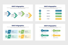 SWOT Infographics Template PowerPoint Keynote Google Slides PPT KEY GS