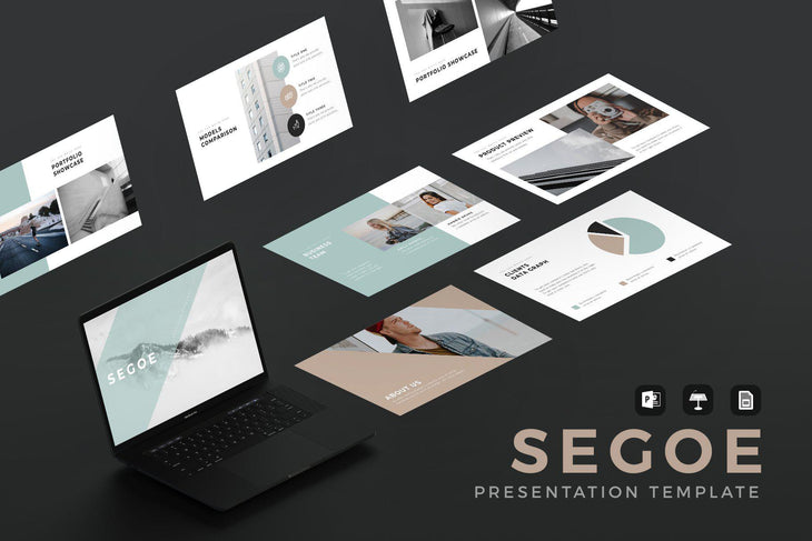 MINIMAL PowerPoint + Keynote + Google Slides Bundle - TheSlideQuest