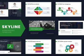 Skyline PowerPoint Template - TheSlideQuest