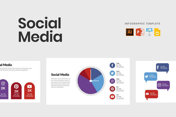 Social Media Diagrams for Presentations