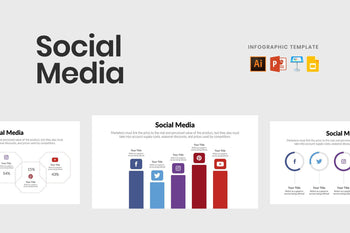 Social Media Infographics Template-PowerPoint Template, Keynote Template, Google Slides Template PPT Infographics -Slidequest