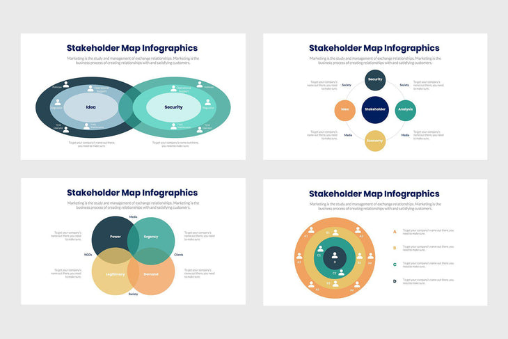 Stakeholder Map Infographics Template PowerPoint Keynote Google Slides PPT KEY GS