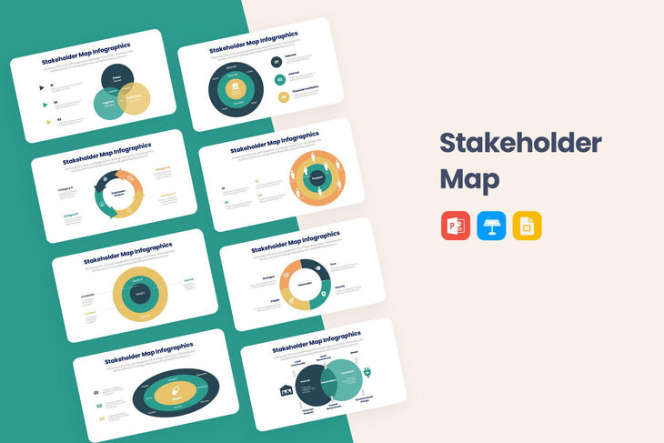 Stakeholder Map Infographics-PowerPoint Template, Keynote Template, Google Slides Template PPT Infographics -Slidequest